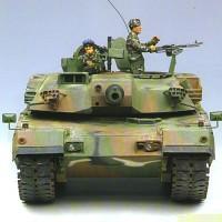 탱크 K1A1 한국형 전차모형 일반판 1/35스케일 아카데미과학 프라모델 모형탱크 K1전차