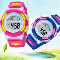 Coolboss 쿨보스 7색 LED 아동 전자방수 손목시계