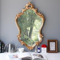 엔틱 세로형 벽거울