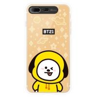 BT21 iPhone8 Plus /7 Plus 치미 미러 라이팅 케이스 (Hybrid)