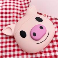 에어팟1/2세대 핑크 돼지 캐릭터 실리콘케이스 212-1