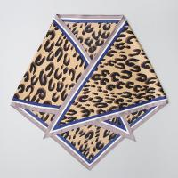 Leopard Triangle Scarf