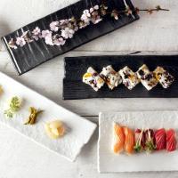 일본식기 미노스타일 사각접시 모음