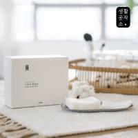 [생활공작소] 스펀지 화장솜 100매 x 2개