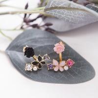 장미꽃 귀걸이