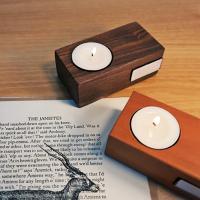 Wood Tealight Candle Holder_우드 티라이트 캔들 홀더 set