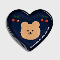 Dot cherry bear-navy(hearttoktok)
