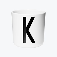 디자인레터스 멜라민 컵 K
