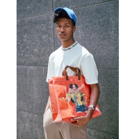 PVC HOOLA SHOPPER BAG