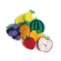 펠트 부직포 유아 자석 놀이 학습 교구 과일