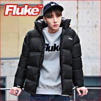 [플루크 패딩] 엘브루즈 헤비 패딩 점퍼 블랙 FPJ1501-BLACK FLUKE 15FW