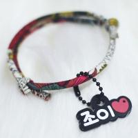 강아지목걸이 - 썬플라워레드 2컬러 15종(소형견용)