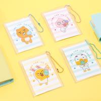 카카오프렌즈 썸머 투명 카드지갑
