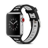 애플워치 밴드 1 2 3 4 스트랩 실리콘 시계줄 스포츠