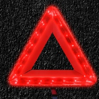 트렁크 LED 삼각대 비상경고 안전표시 자동차 삼각대
