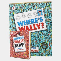 Where's Wally? #1 : Exclusive Pack 1번+2번미니북 세트