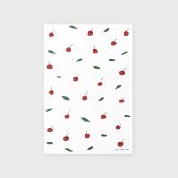 [어프어프] 엽서 Leaf cherries