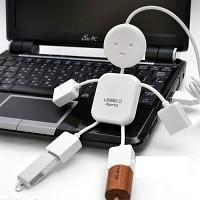 [빠띠라인] 아이디어 USB 4방향포트