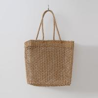 Rattan Square Shoulder Bag
