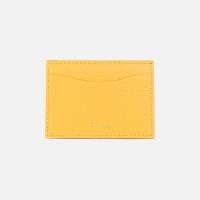 REIMS W018 루프 미니 카드 지갑 옐로우