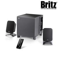 브리츠 2.1채널 블루투스 스마트 스피커 BR-2750BT (70mm 프리미엄유닛 / 위성스피커,서브우퍼 / SD카드지원)