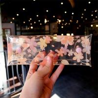 문쓰프렌즈  투명펜슬케이스 -벚꽃