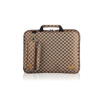 노트북가방 12.1인치(일반형) 체스체크쟈가드 브라운