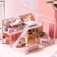 DIY 미니어처 하우스 - 핑크 펜트하우스