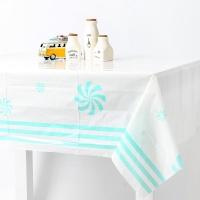 롤리팝 비닐 테이블보 -민트(1매)