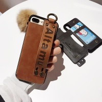 아이폰 가죽 카드 수납 지갑 스트랩 슬림핏 폰 케이스