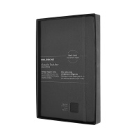 몰스킨 [19클래식 레더 노트]룰드/블랙 하드 L