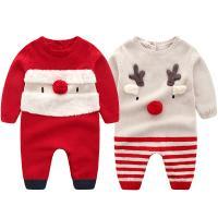 아기 산타와 루돌프 니트 우주복(6-36개월) 203705