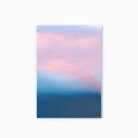 [Nature Watercolor Series] Type D - Pink Sky 유선노트
