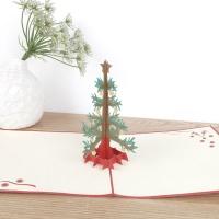 종이로예쁜 입체팝업카드 크리스마스 트리
