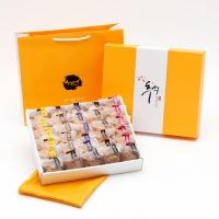 [추석선물] 시루아네 추석 5호 선물세트(다쿠아즈 30개,)보자기+쇼핑백 포함