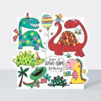 공룡 생일 카드 [CLOUD74]