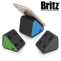 브리츠 휴대용 블루투스 스피커 BZ-A1 Cradle (통화가능 마이크내장 / MP3 & 스마트폰폰 등 외부연결 AUX 단자 / 스마트폰 부착형)