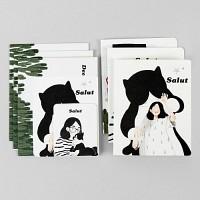 Card set-06 Salut (카드/예쁜카드)