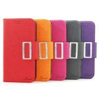 큐빅 버튼 핸디 다이어리 케이스(LG V50)