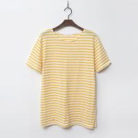 Linen Cotton Marine Stripe Tee