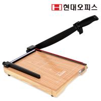 [현대오피스] 작두형 재단기 HDC-A4 Basic 원목재단판