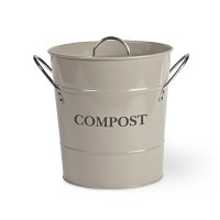 Compost Bucket in Clay