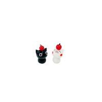 머리 위 사과 고양이 2p set