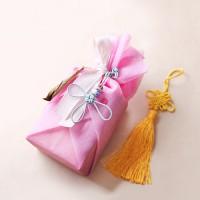 [인디고샵] 전통 삼베 포장천 [연분홍색]