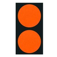 폼텍 마이스티커 도트 03 오렌지 레드 50mm [10시트]