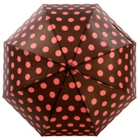 돔형 자동장우산(양산겸용) - 도트홀릭(BR)