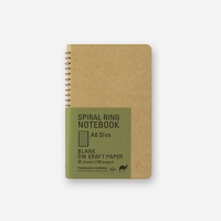 SPIRAL RING NOTEBOOK (A6 slim) DW Kraft