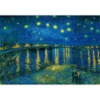 1000조각 목재 직소퍼즐▶ 론강의 별이 빛나는 밤에 [WPK1000-07]