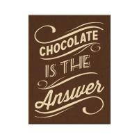 노스텔직아트[14312]Chocolate is the Answer