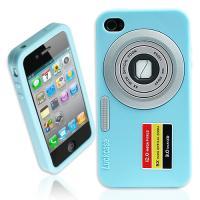 [HICKIES] 아이폰4전용 iCamera 3D입체 실리콘 케이스